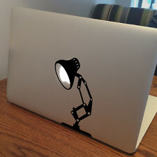 "PIXAR LAMP Apple MacBook Decal Sticker fits 11"" 13"" 15"" and 17"" models"