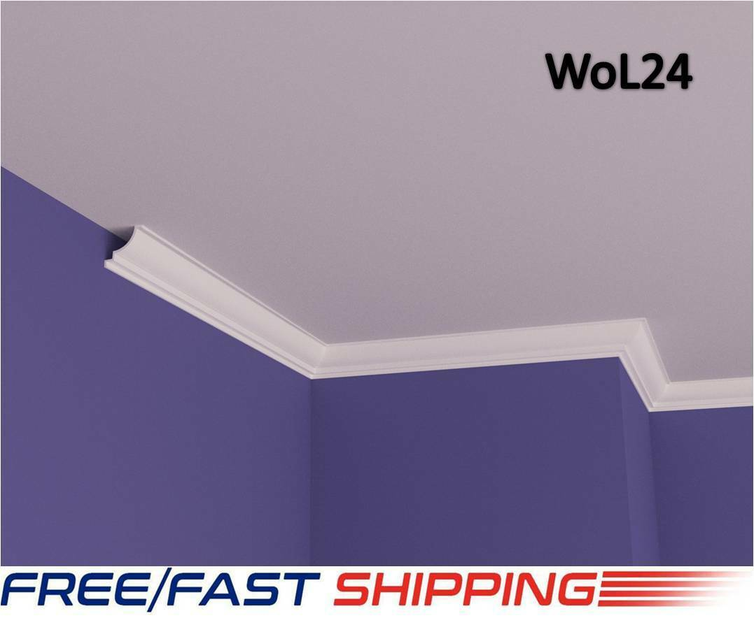 5x5cm XPS Polystyrene Lightweight Wall Coving Cornice Finest Quality Nextday Del
