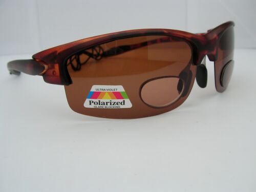 Ladies Bifocal Polarised Sunglasses Fishing Sailing Amber Lens 100/% UV Protected