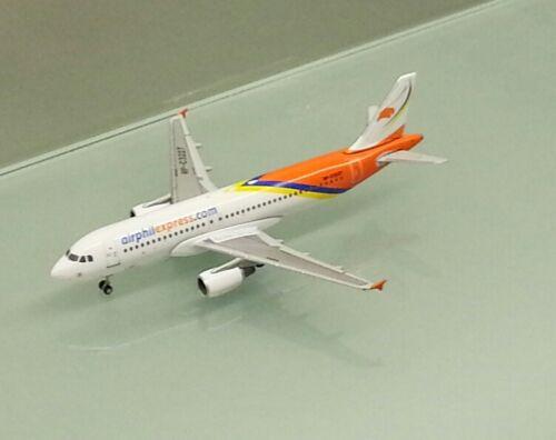Gemini Jets 1//400 Air Phil Express Airbus A320RP-C3227 metal miniature model