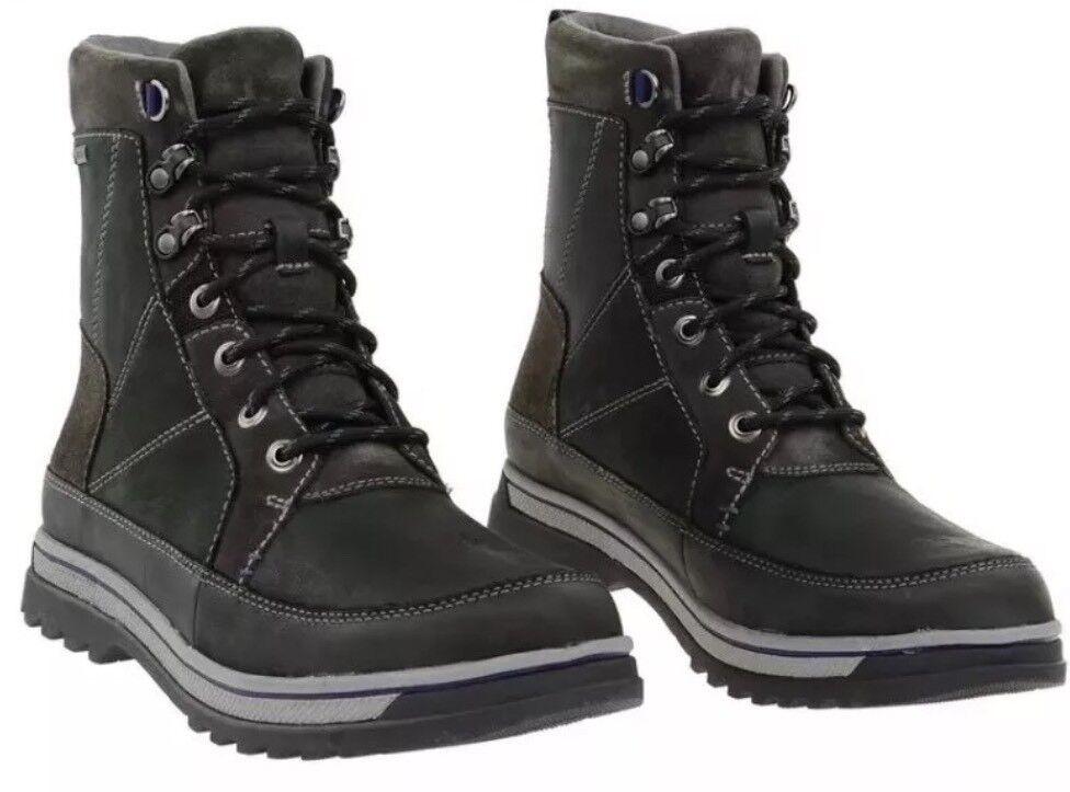Nueva En Caja  Clarks  ripway Peak Gtx Negro Cálido Forrado botas De Invierno 40EU
