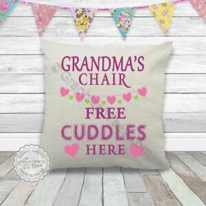 Image Is Loading Grandma 039 S Chair Free Cuddles Here Cushion