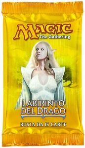ITALIAN-Magic-MTG-Dragon-039-s-Maze-DGM-Factory-Sealed-Booster-Pack-IT-the-Gathering