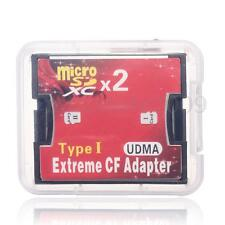 Portable Micro SD TF Micro SDHC to Type I 1 Compact Flash Card CF Reader Adapter
