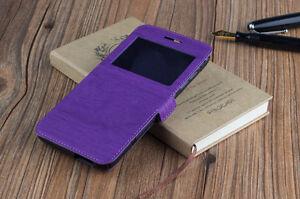 Funda Libro Ventana Para Samsung Galaxy Grand Neo Plus Duo I9080 I9060 Morado Ebay