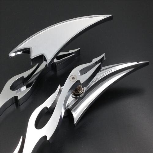Motorcycle Chrome Arrow Rearview Mirrors For Suzuki GSX 1300R Hayabusa 1999-2007