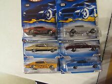 Hot Wheels Lot of (6) '67 Dodge Charger Types!! All Different!!