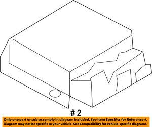 ford oem airbag air bag rcm sdm acm restraint control module 1996 mazda b2300 image is loading ford oem airbag air bag rcm sdm acm