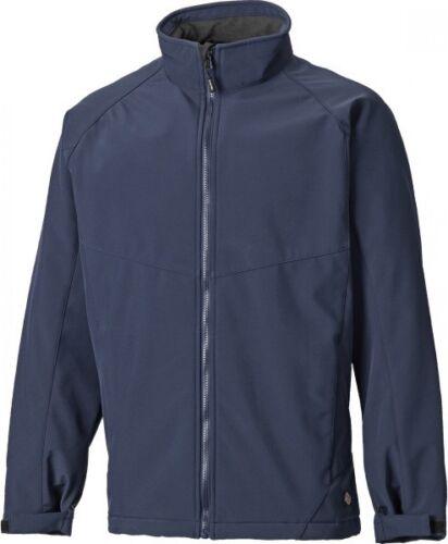 Sizes S-XXXXL Men/'s Coat Dickies Waterproof Softshell Work Jacket Navy