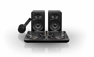 Pioneer-DJ-Starter-Kit-with-Headphones-Speakers-amp-Deck-Free-P-amp-P-to-IRE-amp-UK