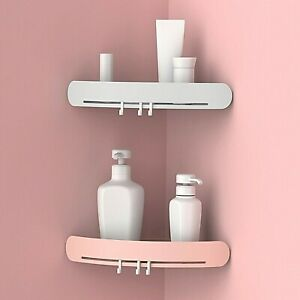 Bathroom-Triangular-Shower-Shelf-Corner-Bath-Storage-Holder-Organizer-Rack