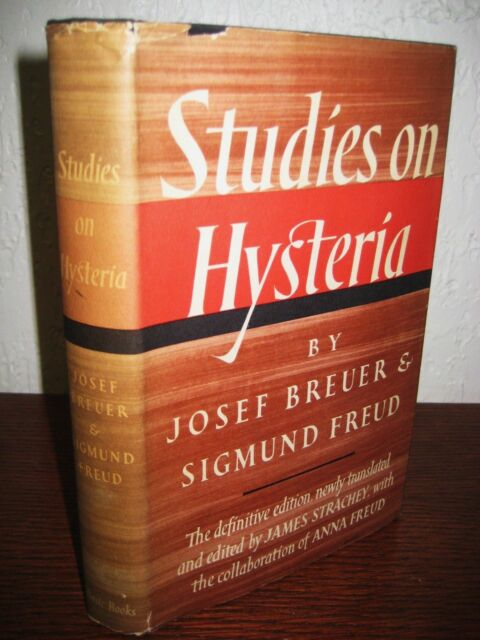 1st Edition STUDIES IN HYSTERIA Sigmund Freud Josef Breuer PSYCHOLOGY Definitive