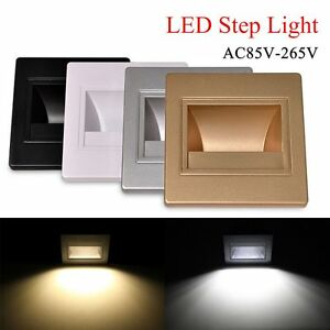 Details About 1 10 20x 3w Led Recessed Downlight Stage Stair Lighting Wall Floor Deck Light