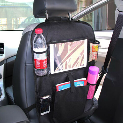 Universal Seat Back Tablet Holder Organiser Car Travel iPad 61*41 Storage Pocket