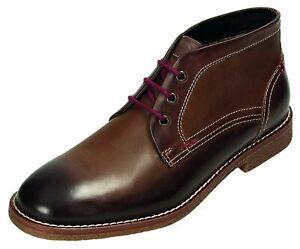 Klondike-Stiefel-Stiefeletten-Boots-Herrenschuhe-braun-MH-109-H22-40-46-Neu12