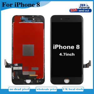 new product 1b73f a027e Details about For iPhone 8 4.7'' Touch Screen Replacement LCD Display  Digitizer Assembly Black