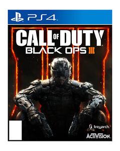 Call of Duty: Black Ops III (SONY PlayStation 4,2015) | eBay