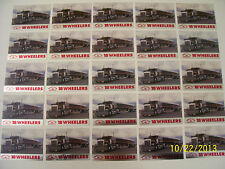 Lot of 25-1985 Kenworth T900 Semi Truck 18 Wheelers Trading Cards (READ AD)