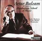 Artur Balsam in Concert at Manhattan School of Music (CD, Jun-2007, 2 Discs, Bridge)