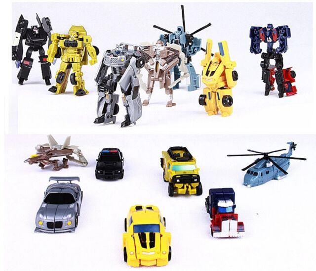 Transformation Transformer Classic Robot Car Toys For Children Kids Xmas Gift SG