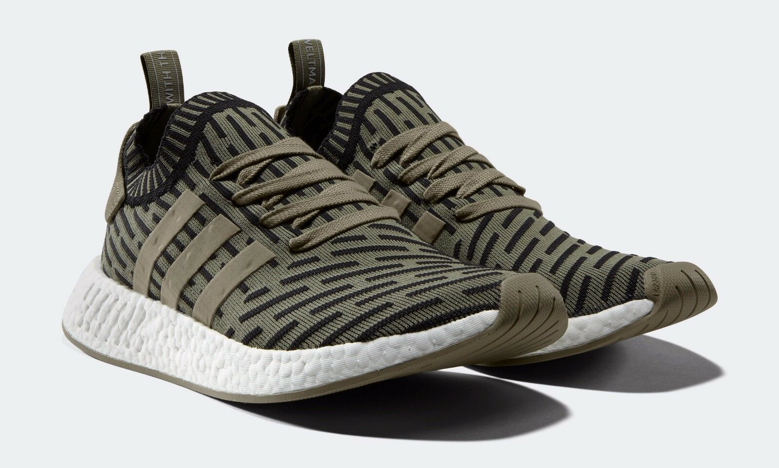 ADIDAS NMD R2 BA7198 GREEN LIMITED EDITION SOLD OUT US men Size 9.5