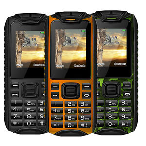 Image Is Loading Rugged Tough Army Military Shockproof Phone W Flashlight