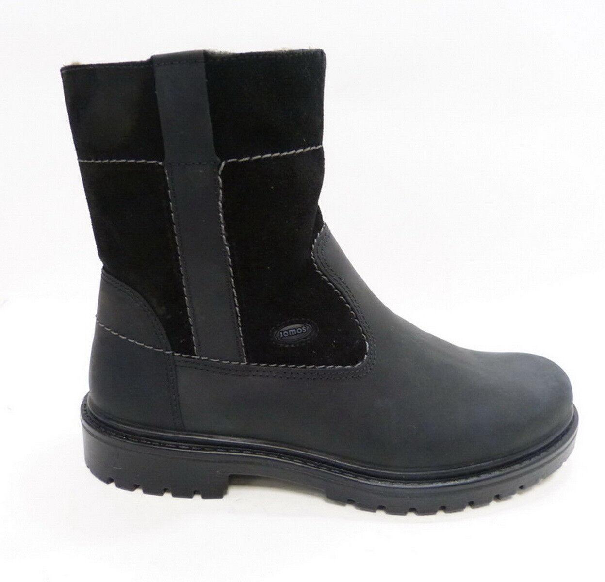 Jomos warmer botas Stiefel 456504 Reißverschluß 000 Negro Reißverschluß 456504 4ca55c