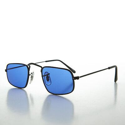 Ausdauernd Ben Franklin Quadrat Hippy Sonnenbrille Mit Farbige Linsen Blau/schwarz Jazz Jahre Lang StöRungsfreien Service GewäHrleisten