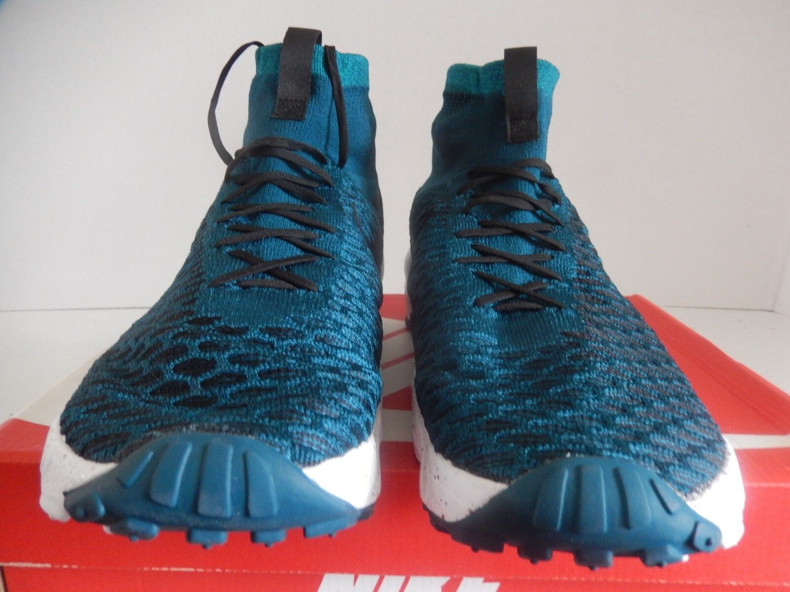NIKE AIR TURQUOISE FOOTSCAPE MAGISTA FK FC FLYKNIT MIDNIGHT TURQUOISE AIR SZ 11 [830600-300] e0ee87