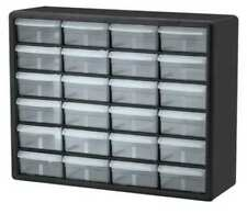 Akro-Mils 10124 24 Drawer Plastic Parts Storage Hardware and Craft Cabinet 20-Inch