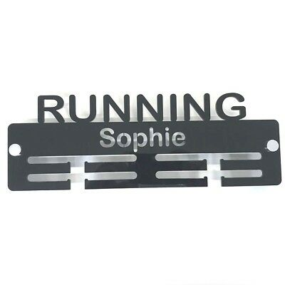 Personalised Running Medal Hanger Includes Fixings Quality First Many Colour Choices