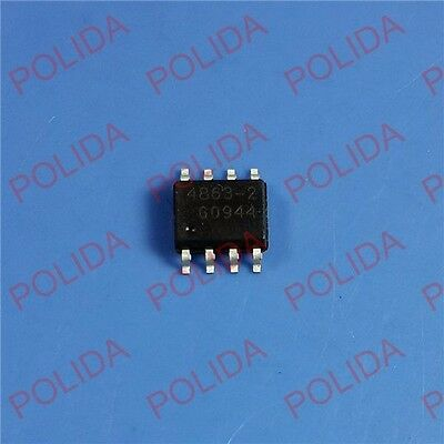 5PCS Power Boost Controller IC INFINEON SOP8 TDA4863-2G TDA48632GXUMA2 TDA4863-2