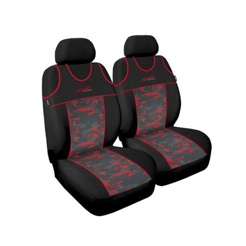 Mitsubishi Colt ab 91 Universal Rot Front Sitzbezüge Sitzbezug Auto Schonbezüge