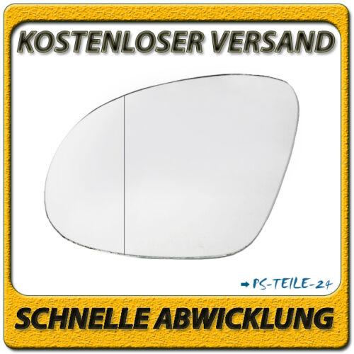 Exterior cristal espejo para VW Sharan desde 2010 Enlaces lado del conductor asphärisch