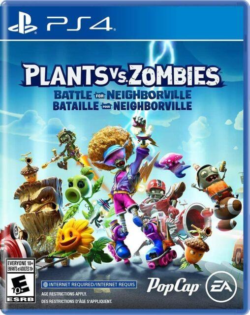 Plants vs. Zombies Battle for Neighborville for PS4, Brand New Sealed