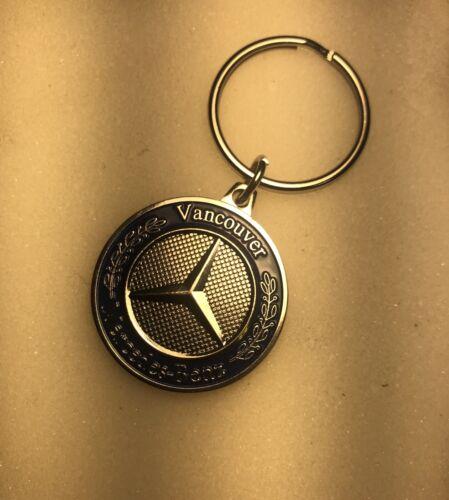 Mercedes Benz dealer keychain Rare