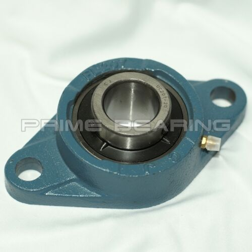"High Quality! UCFL206-20 1-1//4/"" 2-Bolt Flange Bearing"