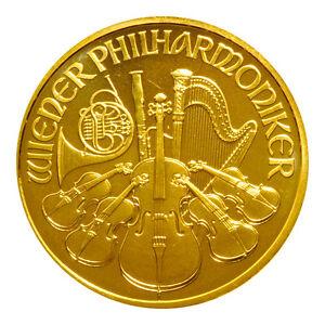 1 oz Gold Wiener Philharmoniker 100 Euro Österreich Verschiedene Jahrgänge