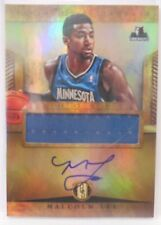 2012-13 Panini Gold Standard Malcolm Lee Autograph Jersey Rookie Card # 279