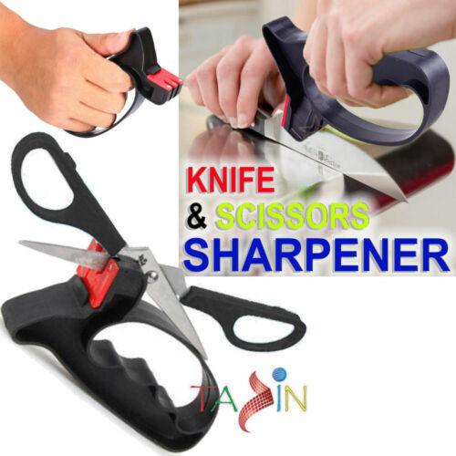 Afilador de cuchillos Súper Guardia de protección de mano de Cocina Tijeras afiladas Hoja de herramienta
