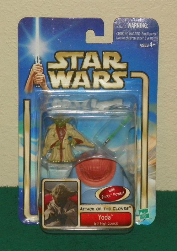 Star Wars AOTC Yoda Jedi High 53 Council  53 High Factory Sealed ea4f89