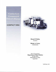 connecticut commercial drivers license manual