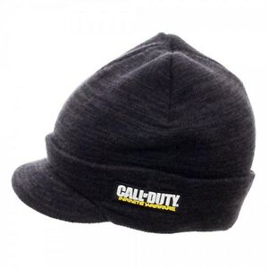 6e50422dfbb Call of Duty Video Game Billed Beanie Hat w Bill OFFICIAL CoD ...