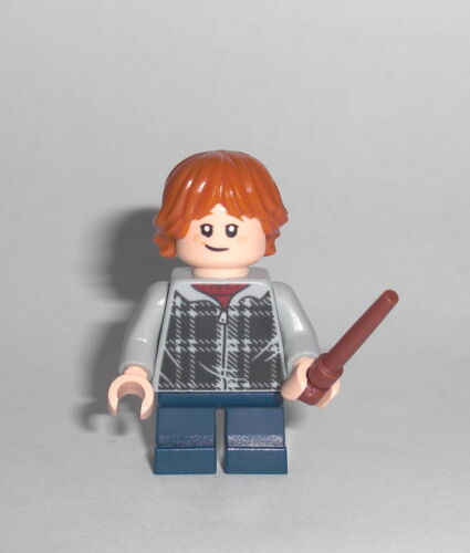 - Figur Minifigur 75950 75955 grauer Sweater LEGO Harry Potter Ron Weasley