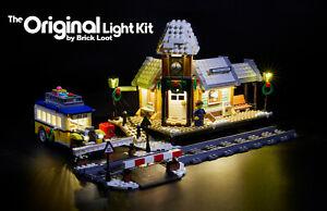 LED Lighting Kit for LEGO ® Winter Village Station 10259