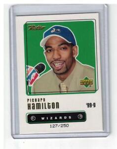 1999-00-UPPER-DECK-RETRO-RICHARD-HAMILTON-106-ROOKIE-GOLD-127-250