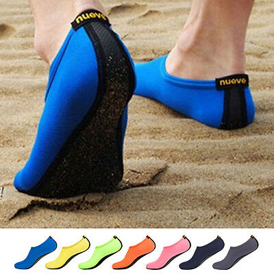 Sport Trainers Skin Footwear Beach Shoes Socks Soft Portable Aqua Water Sock New