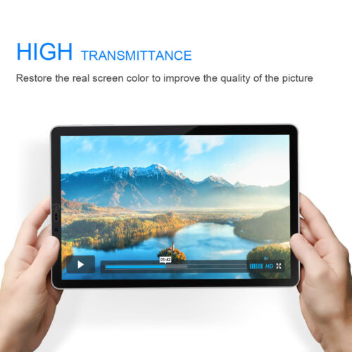 For Samsung Galaxy Tab S4 10.5 Tablet HD Clear Tempered Glass Screen Protector