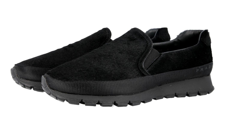 zapatos PRADA LUSSO PSU002 negro MATCHRACE NUOVE 9 43 43,5
