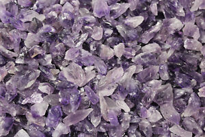 500-Carat-Bulk-Lot-of-Natural-Amethyst-Quartz-Crystal-Points-100-Gram-Uruguay
